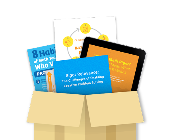 Download Free Resources - Productive Struggle & Math Rigor