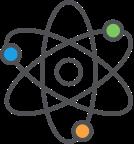 Interconnected schemas explaining how ST math games work